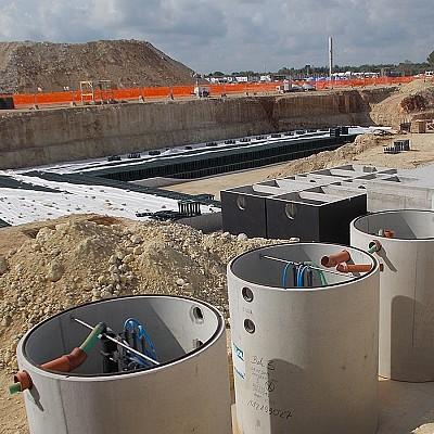 Impianto di depurazione a Melendugno (LE)